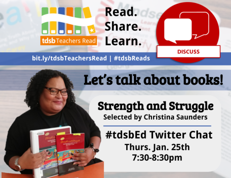 TDSB Teachers Read Discussion Promo
